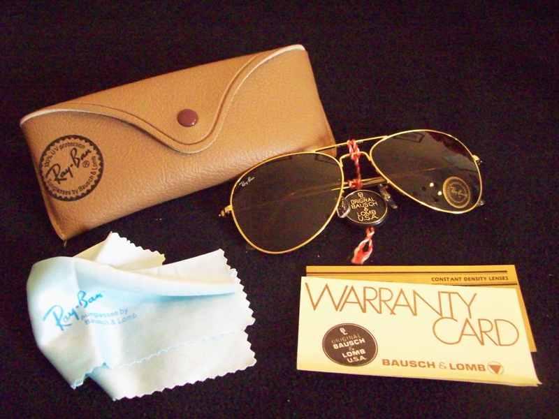 gafas ray ban aviator marrones